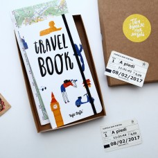 Блокнот Travel book білий