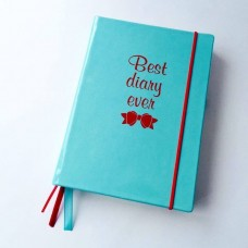"Блокнот ""Best Diary ever"" Blue Edition"