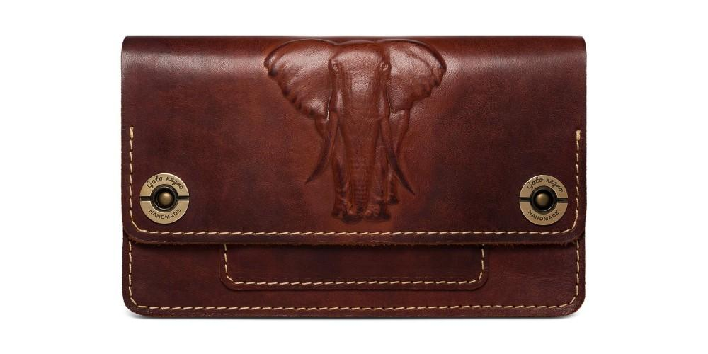 Кошелек Gato Negro Fellini Elephant Brown