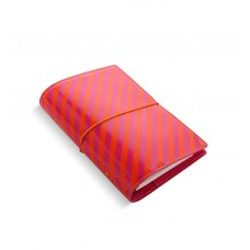 Органайзер Filofax Domino Patent Personal Orange/Pink Stripes